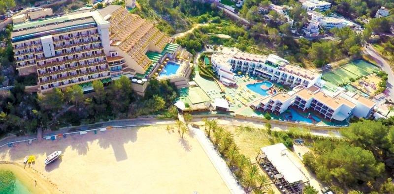 Hotel Club San Miguel, en Ibiza, uno de los activos hoteleros de la compañía.