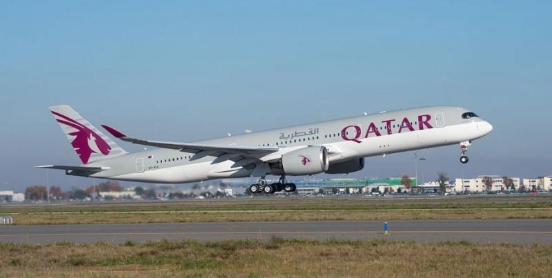 Qatar Airways ha programado este verano su Airbus A350 en sus vuelos con España.
