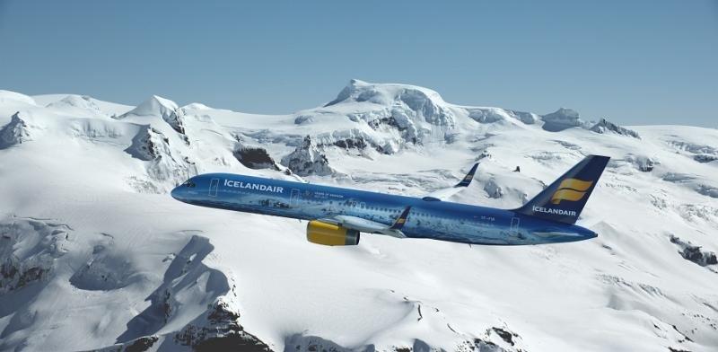 Volando a bordo del glaciar