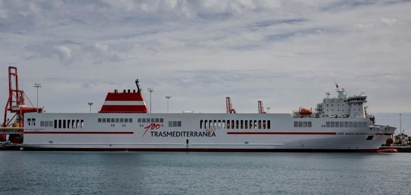 Trasmediterránea es la primera naviera del mundo neutra en CO2
