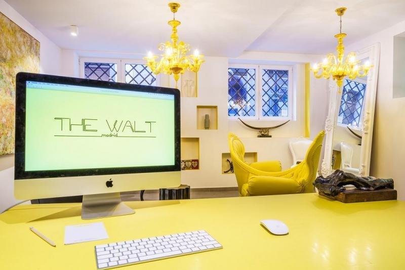 The Walt Madrid cuenta con piezas únicas de decoración.