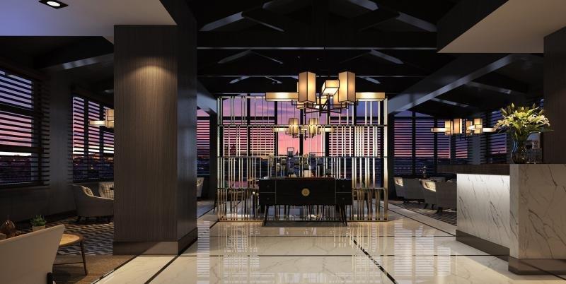 Meliá está también presente en China con cuatro hoteles. Foto: The Level Lounge en el Melia Shanghai Hongqiao.