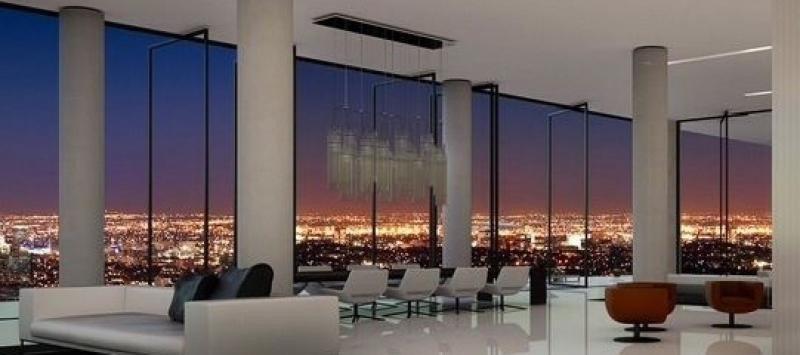 Imagen del Sky Bar y sus espectaculares vistas sobre Madrid. Imagen: Riu Hotels