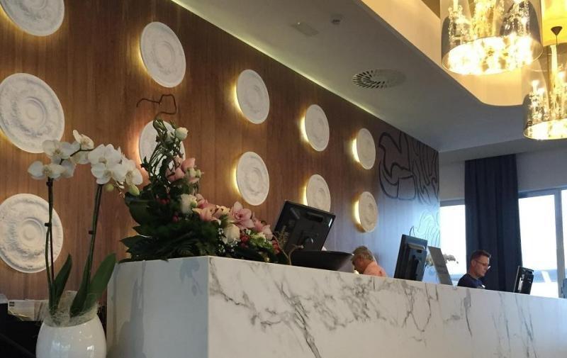 Para los eventos el hotel dispondrá de una recepción independiente y exclusiva. Imagen: Riu Hotels