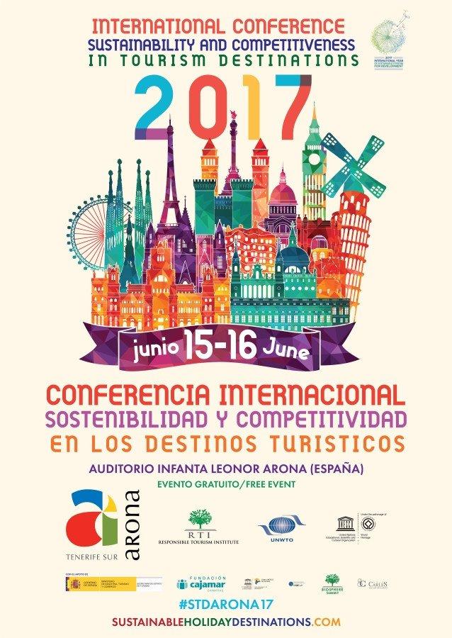 Cartel de la conferencia.