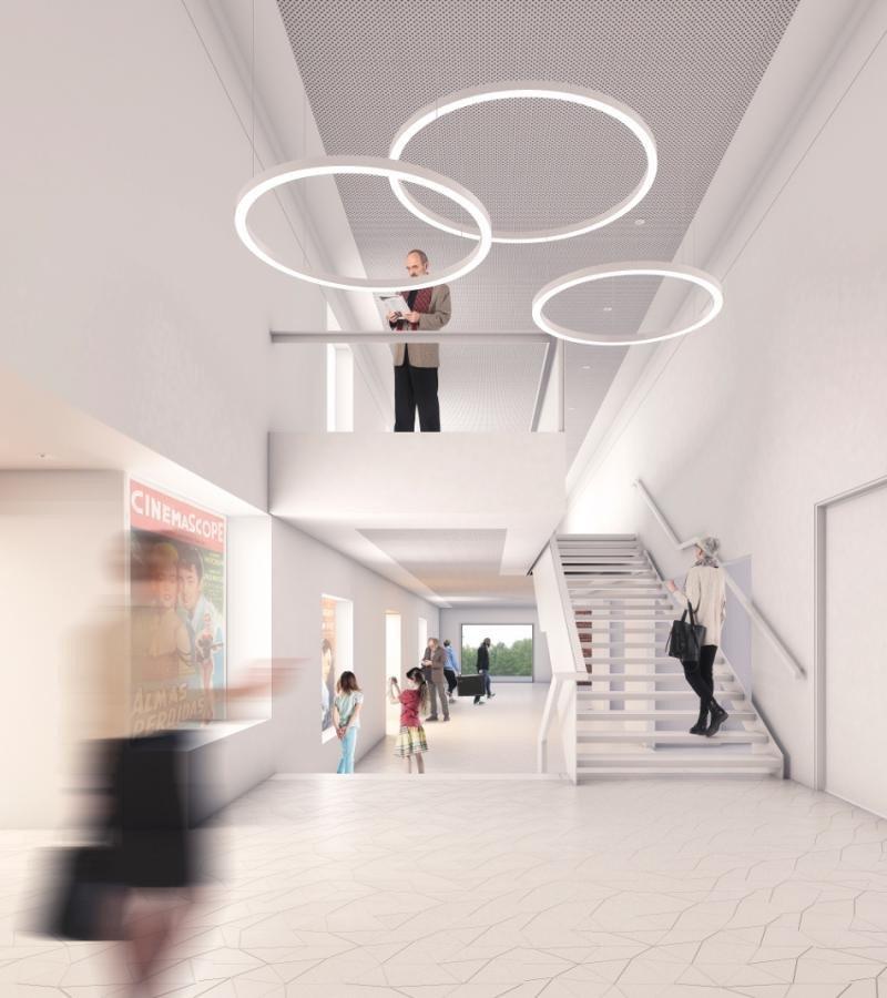El edificio que acogía el antiguo cine de Cardona ha sido reformado integralmente y se ha reconvertido en un nuevo centro de convenciones.