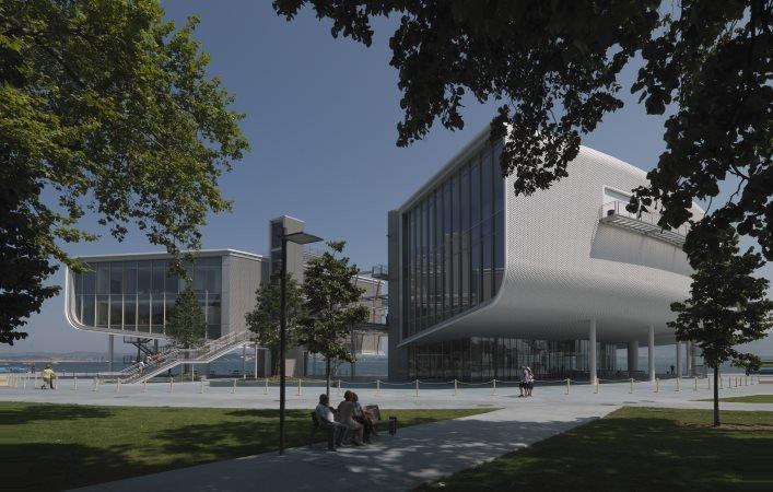 El Centro Botín abrió ayer sus puertas.