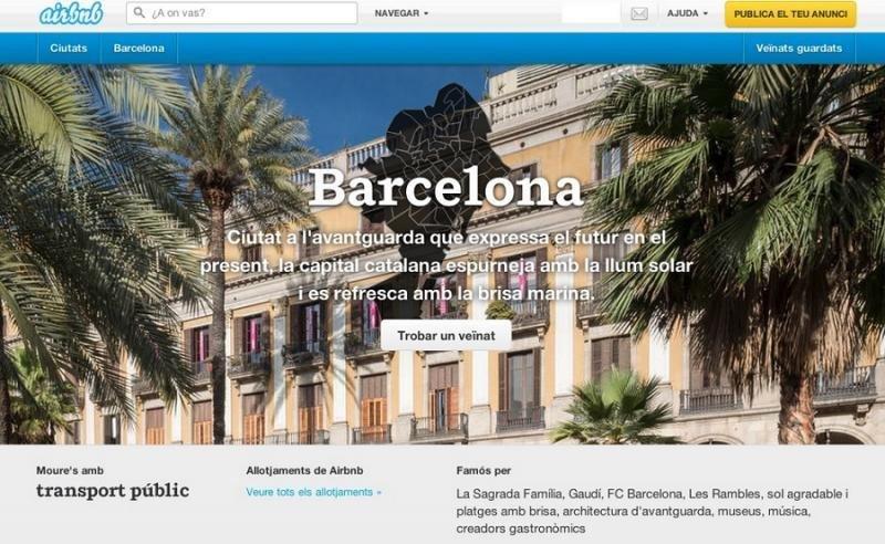 Barcelona se pone seria con Airbnb