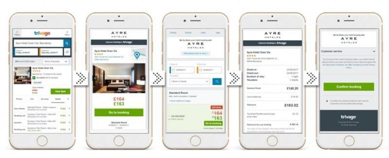 Así es como el cliente ve esta nueva opción en su móvil. Imagen: Mirai.