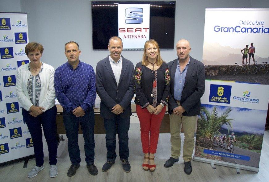 La consejera de Turismo del Cabildo de Gran Canaria, Inés Jiménez, afirma que una iniciativa podría suponer una incalculable promoción internacional para la isla.