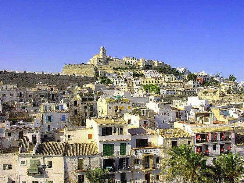 El centro histórico de Ibiza, Dalt Vila.
