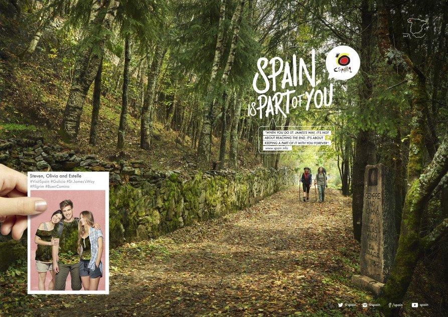 La nueva creatividad será utilizada para incrementar la notoriedad y reforzar el posicionamiento de la marca España.