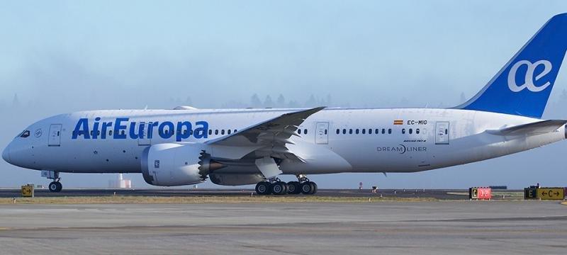 Air Europa opera su ruta a Tel Aviv con el 787 y más frecuencias