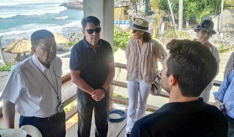 Taleb Rifai y Carlos Vogeler en su visita a Centroamérica. Foto: OMT