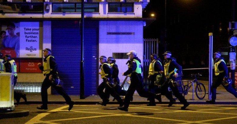 La Policía abatió a los tres atacantes en la zona de bares de Borough Market. Foto: Actualidad RT