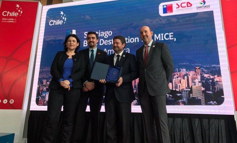 Autoridades chilenas esperan que el país y su capital crezcan en los ranking de destinos. Foto: Marca Chile.