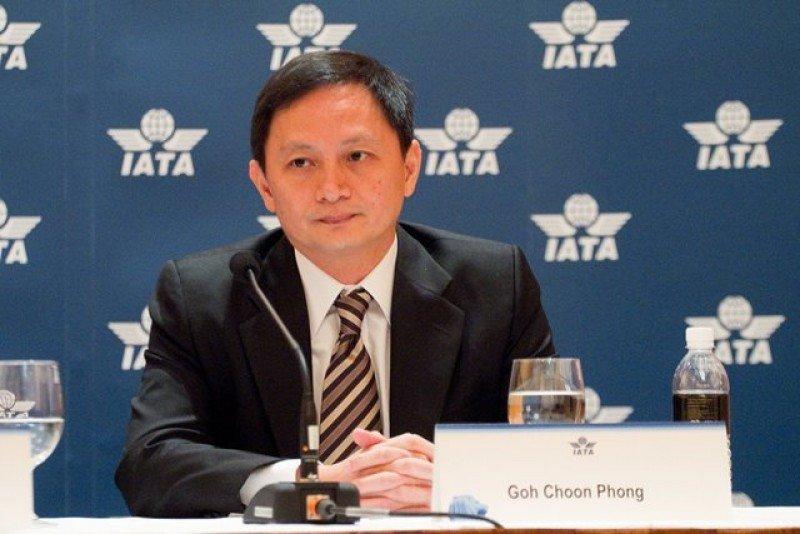 Goh Choon Phong, consejero delegado de Singapore Airlines, asume en México como presidente de la Asociación de Transporte Aéreo Internacional.