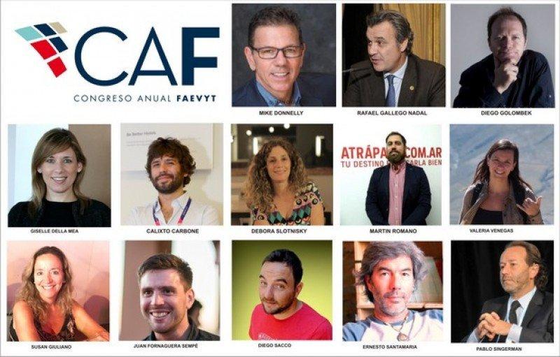 Disertantes del CAF 2017