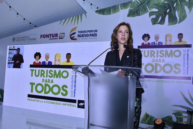 Ministra de Comercio, Industria y Turismo de Colombia, María Claudia Lacouture. Foto: MincomercioCo.