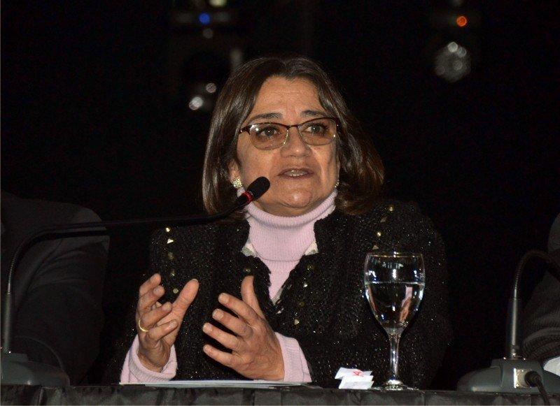 Lucia Corpacci, gobernador de Catamarca durante el CAF 2017. (Foto: prensa FAEVYT)
