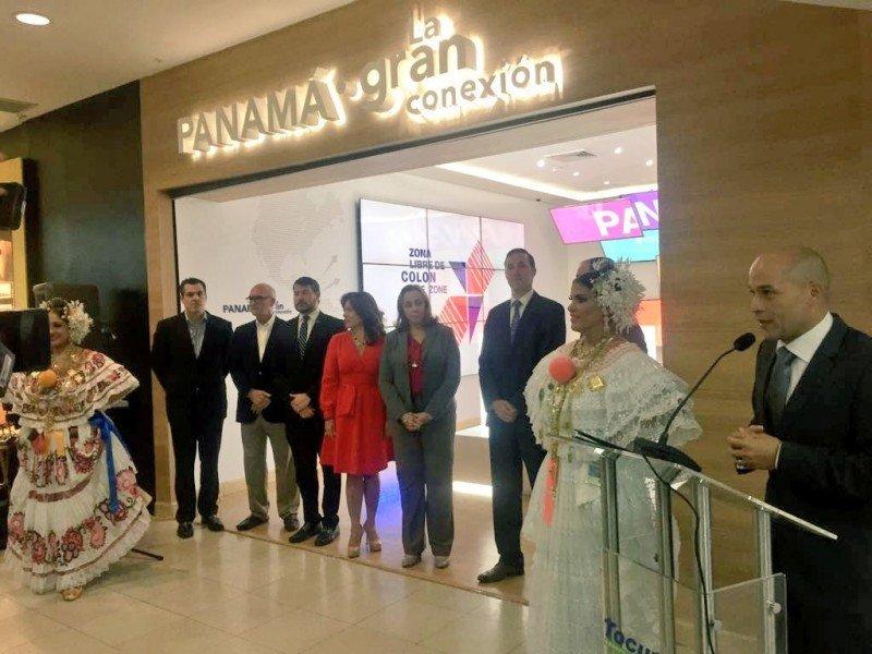 Autoridades inauguran el nuevo pabellón de información en el aeropuerto Tocumen,