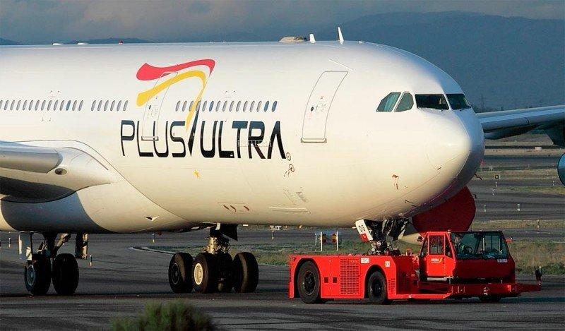 Low cost española Plus Ultra comienza a volar de España a Chile