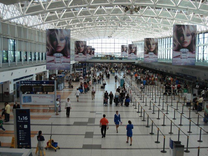 Aeropuerto Internacional de Ezeiza.
