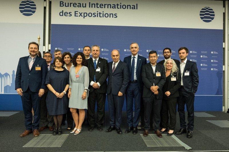 Delegación argentina en el Bureau International des Expositions.