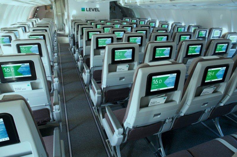 Los aviones Airbus A330-200 tienen capacidad para 314 pasajeros. (Foto: Level).