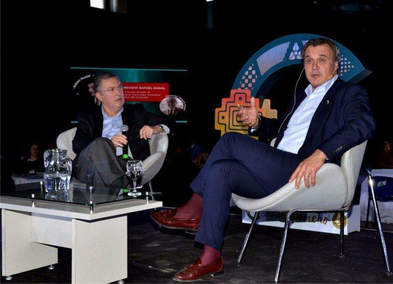 Izq a der: Nolberto Pezzatti y Rafael Gallego.