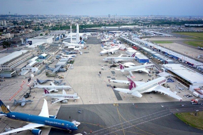 Salón Aeronáutico de Le Bourget 2015. Foto: R.Gnecco, Airbus.