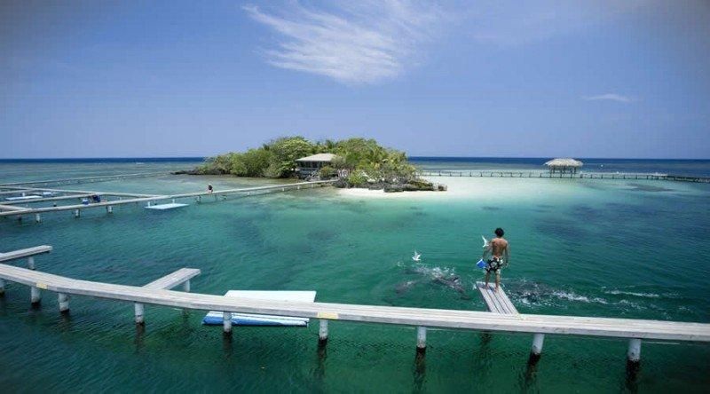 Isla de Roatán, el principal destino en el Caribe hondureño. Foto: Presidencia Honduras.