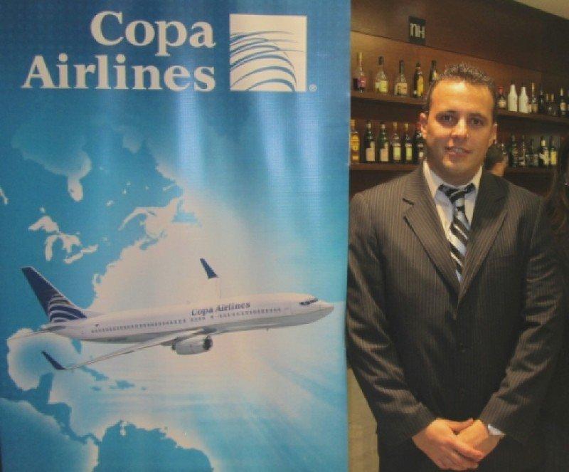 Christian Rodríguez, nuevo gerente general de Copa Airlines en Uruguay. Foto: Espectador Negocios.