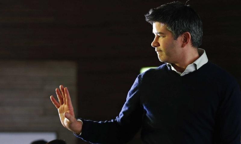 El fundador de Uber, Travis Kalanick, dimite como CEO (foto: REUTERS/Kim Kyung-Hoon).