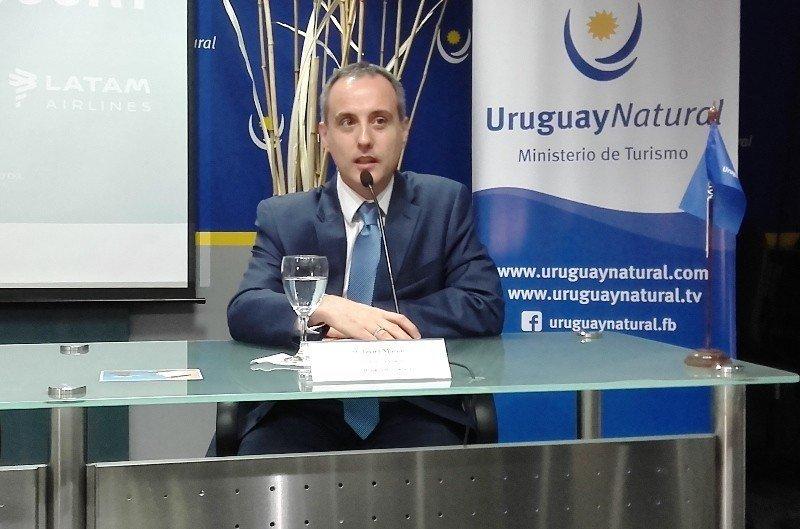 Javier Macías, gerente general de LATAM en Uruguay.