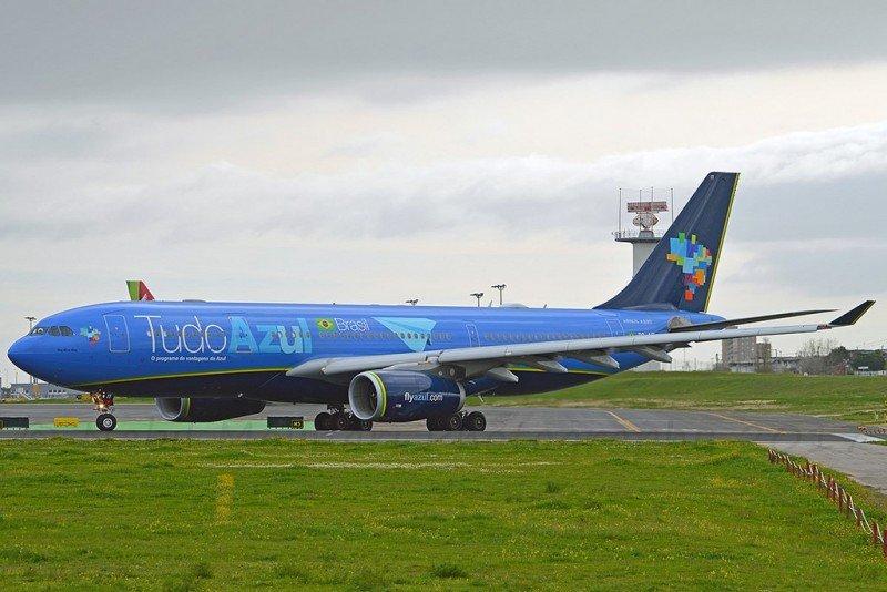 Airbus A330 de Azul, la nave operada en la ruta Recife-Orlando. Foto: Nabil Molinari (Flickr Azul).