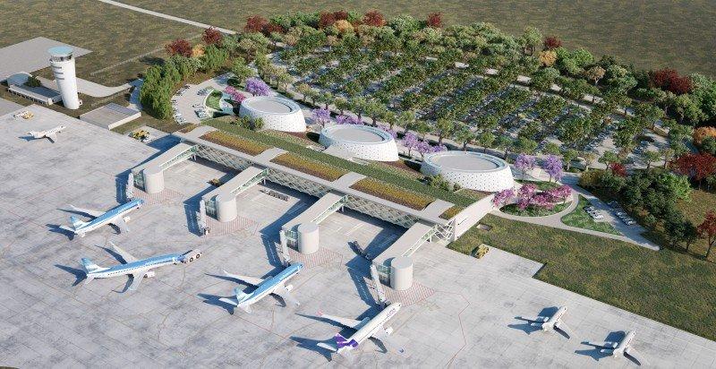 Así se verá el renovado aeropuerto de Tucumán