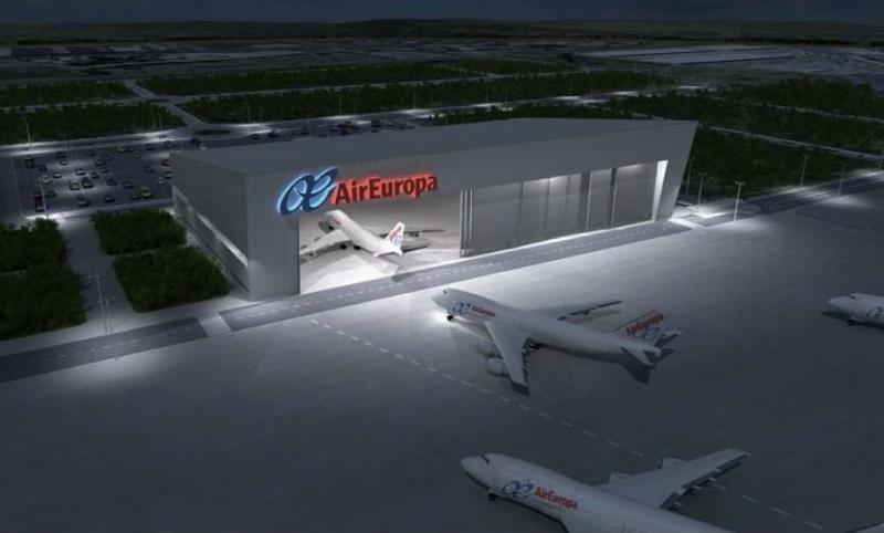 Globalia invertirá 21,7 M € en su nuevo hangar en Madrid-Barajas