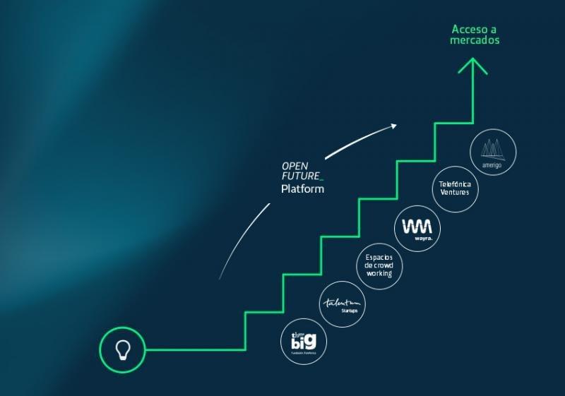 Estructura de Telefónica Open Future.
