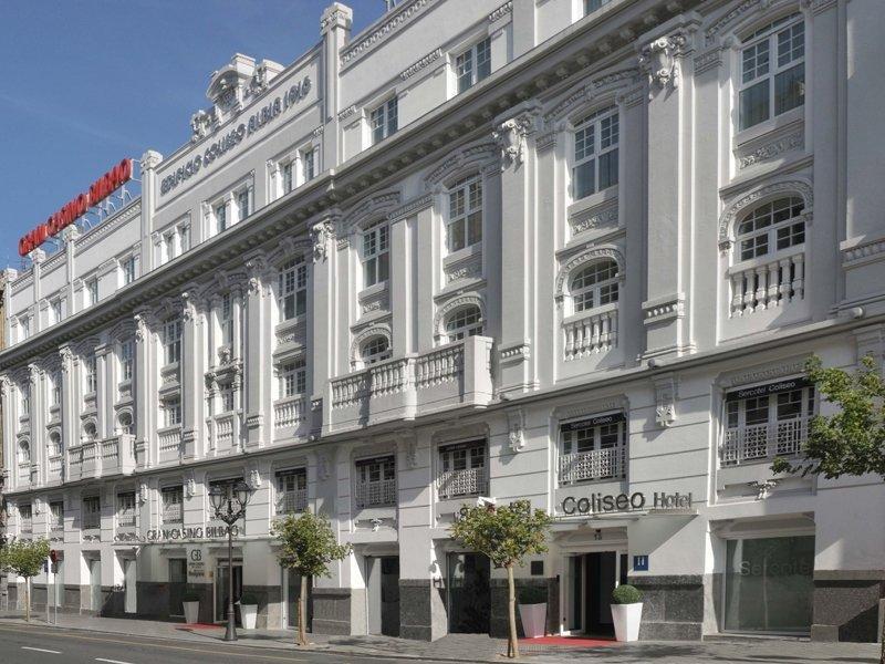 El nuevo hotel se situará junto al que ya opera en la ciudad vizcaína, el Sercotel Coliseo (en la imagen).