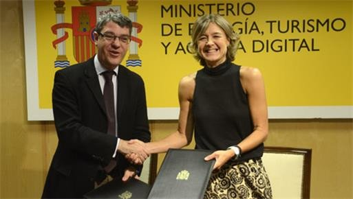 Álvaro Nadal e Isabel García Tejerina.