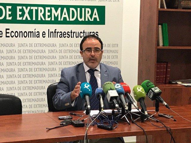 El director general de Turismo, Francisco Martín.
