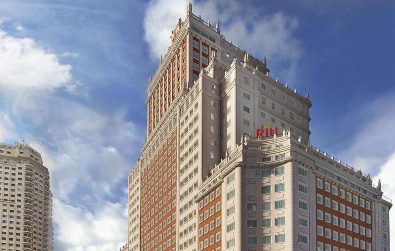 Riu ha sido el único grupo hotelero que se ha colado en el top cinco de inversores del primer semestre, por la singularidad de la operación de Edificio España.