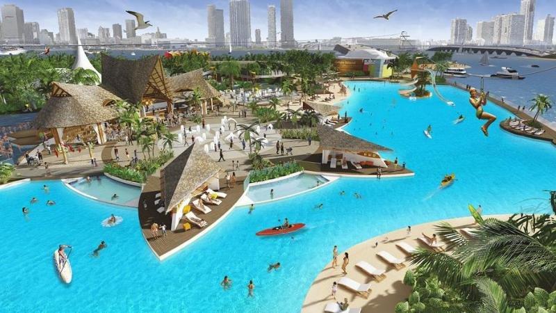La instalación de la primera laguna cristalina de acceso público y pago por uso en el parque temático Jungle Island, en Miami, permitirá triplicar la demanda y elevar el gasto del visitante.