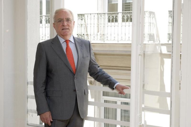 El presidente de la Asociación Empresarial Hotelera de Madrid (AEHM), Gabriel García.