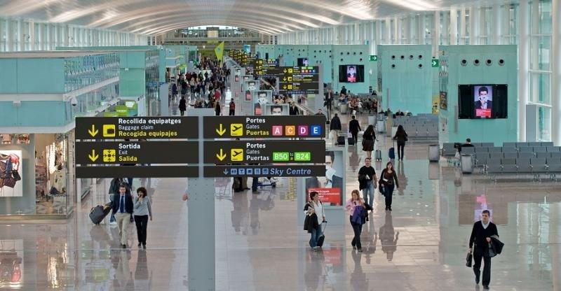 El Aeropuerto de Barcelona El Prat es el único español que ha entrado entre lso de mayor crecimiento en su categoría.