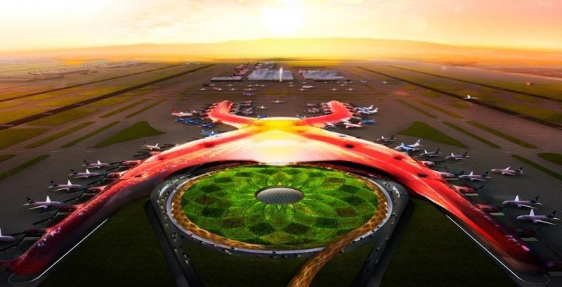 El Nuevo Aeropuerto de la Ciudad de México, el más sostenible del mundo (Foto Presidencia de la República Mexicana.