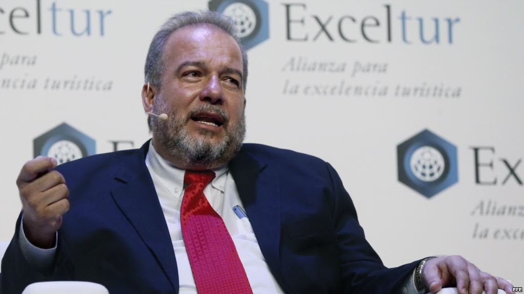 El ministro de Turismo de Cuba, Manuel Marrero.