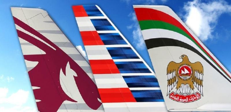 American Airlines rompe su acuerdo de código compartido con Qatar y Etihad (Imagen: AboutTravel).