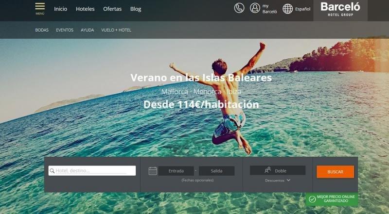 Barceló añade a su web la herramienta de paquetes dinámicos de Expedia